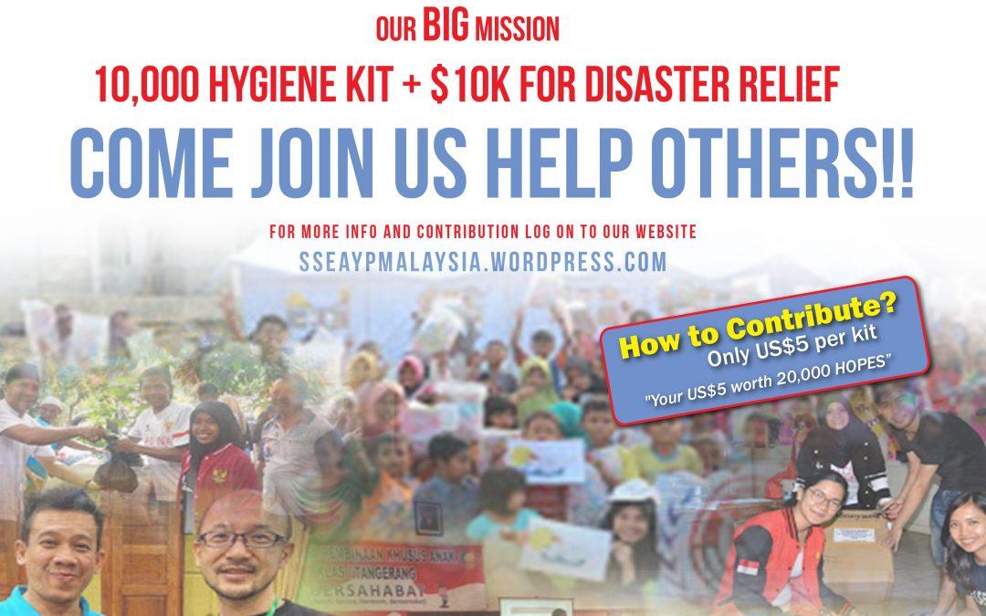 20K Kit of HOPE Program – Disaster Relief