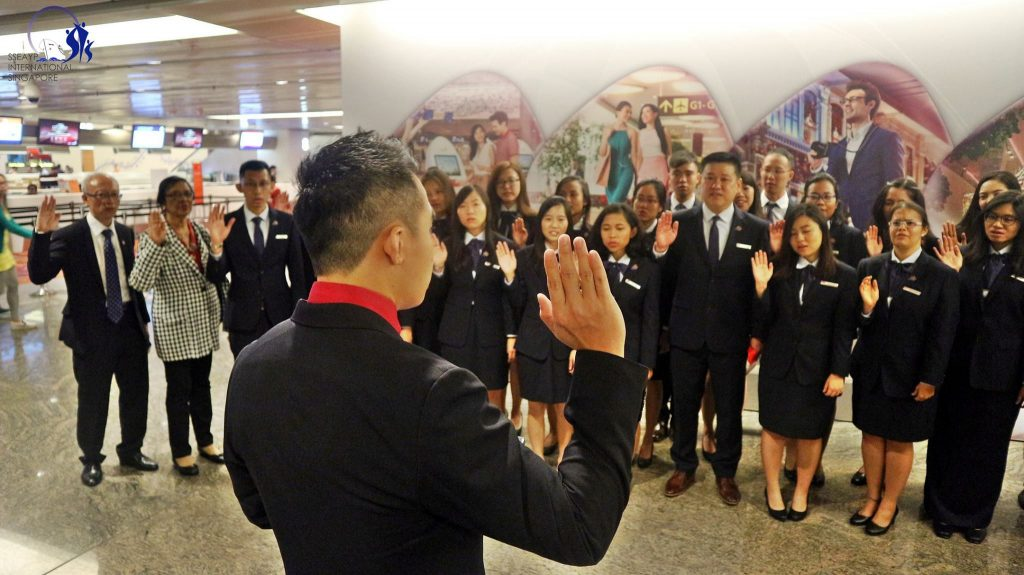 44th SPYs Send-Off Ceremony - Oath Taking