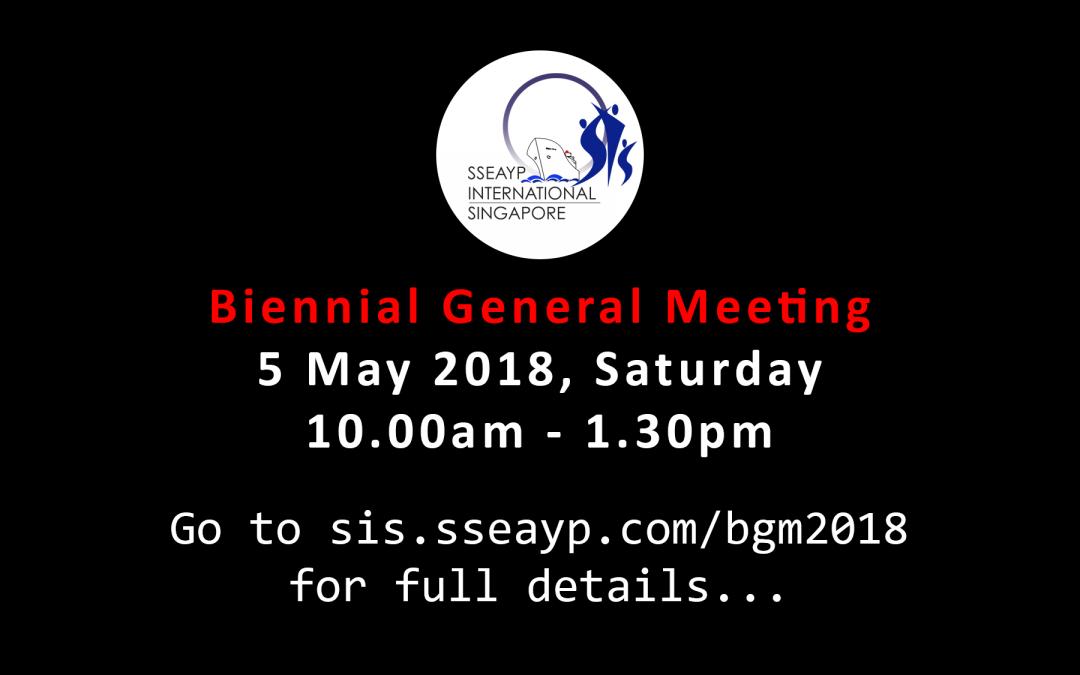 Biennial General Meeting (BGM) 2018