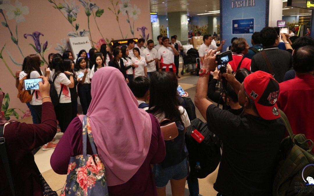 44th SSEAYP Singapore Contingent Returns