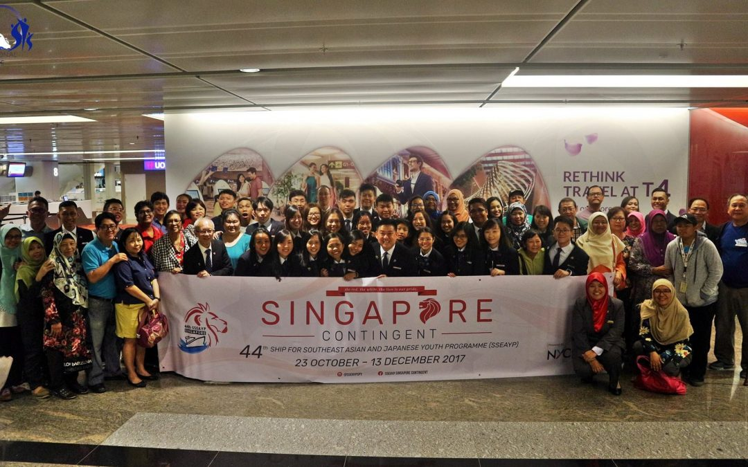 44th SSEAYP Singapore Contingent Send-Off Ceremony
