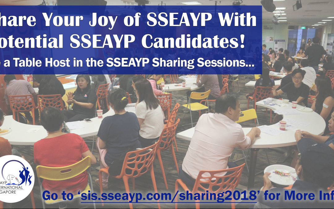 SSEAYP Sharing Sessions 2018