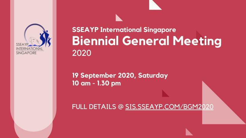 Biennial General Meeting (BGM) 2020